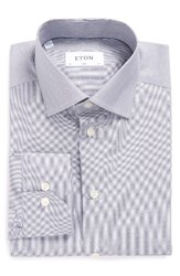 Eton Men's Slim Fit Stripe Dress Shirt