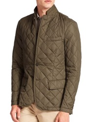 Polo Ralph Lauren Quilted Sportcoat Black Olive