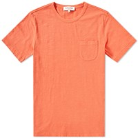 Ymc Wild Ones Slub Pocket Tee Orange