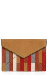 Rebecca Minkoff Leo Leather Envelope Clutch