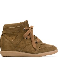 Isabel Marant 'Bobby' Sneakers Brown