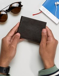 French Connection Wallet In Saffiano Leather Brown