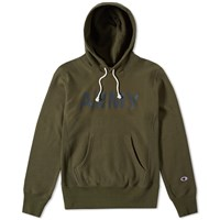 Champion Reverse Weave Army Hoody Green
