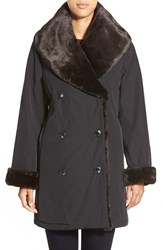 Women's Jane Post Faux Fur Shawl Collar Primaloft Coat