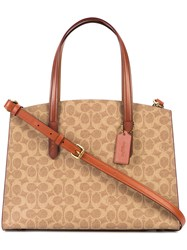 Coach Charlie Carryall Bag Brown