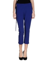 Liu Jo Casual Pants Bright Blue