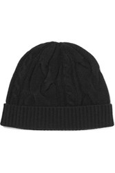 N.Peal Cashmere Cashmere Beanie Black