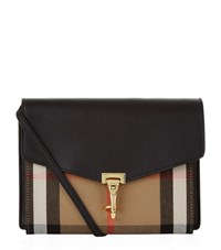 Burberry Shoes And Accessories Small Macken Bag Female Black