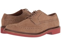 Cole Haan Briscoe Wing Oxford Milkshake Suede Men's Lace Up Casual Shoes Khaki