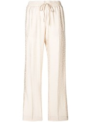 Zadig And Voltaire Poeme Trousers Neutrals