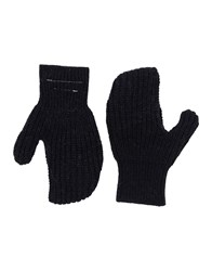 Maison Martin Margiela Mm6 Gloves Black