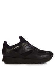 Dolce And Gabbana Belgrado Last Running Low Top Trainers Black Multi