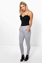 Boohoo Stretch Skinny Trouser Grey