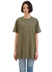 Katharine Hamnett X Ymc Don't Shoot Crew Neck T Shirt Green