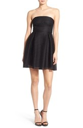 Junior Women's Soprano Strapless Fit And Flare Dress