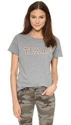 Style Stalker Texas Distressed Tee Heather Grey