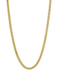 Bloomingdale's Men's Classic Curb Chain Necklace In 14K Yellow Gold 24 100 Exclusive
