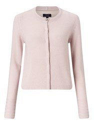 Jigsaw Cloud Cashmere Neat Cardigan Rose