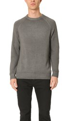 Vince Raglan Crew Neck Sweater Smoked Grey