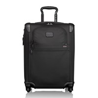 Tumi Alpha Travel Continental Expandable 4 Wheel Carry On Black