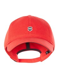 Victorinox Classic Shield Baseball Cap True Red