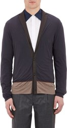 Kolor Double Layer Jersey Blazer Cardigan Black
