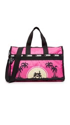 Le Sport Sac Disney X Lesportsac Medium Weekender Bag Love In Paradise