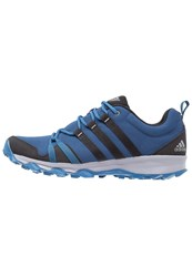 Adidas Performance Trail Rocker Trail Running Shoes Mystery Blue Core Black Grey