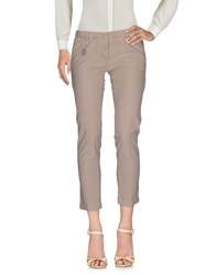 Monocrom Casual Pants Light Brown