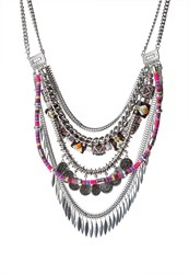 Vero Moda Vmalisia Necklace Silvercoloured