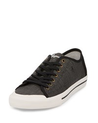 Penguin Chiller Linen Sneaker Black