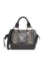 See By Chloe Paige Satchel Black