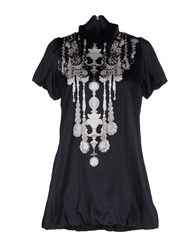 1 One Shirts Blouses Women Black