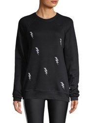 Ultracor Swarovski Bolt Nero Sweatshirt Black