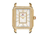 Michele 16Mm Deco Ii Mid Size Diamond Gold Diamond Dial