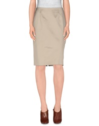 Fabrizio Lenzi Knee Length Skirts