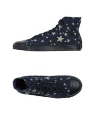 Ymc You Must Create High Tops And Trainers Dark Blue