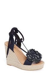 Kate Spade Women's New York Daisy Wedge Sandal Blue
