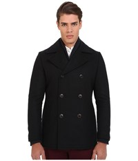 7 Diamonds Seville Peacoat Navy Men's Coat