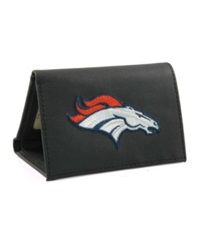 Rico Industries Denver Broncos Trifold Wallet Black