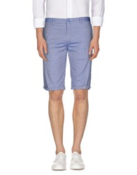Roberto Pepe Trousers Bermuda Shorts Men Blue