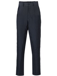 Damir Doma Cropped Trousers Blue