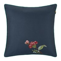 Pip Studio Quilted Cushion 40X40xcm Dark Blue