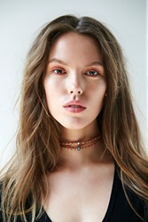 Free People Double Leather Short Choker