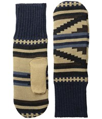 Pendleton Fleece Lined Mittens Rio Canyon Wool Gloves Brown