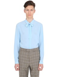 Gucci Silk Crepe Cambridge Shirt
