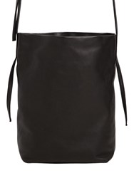 Ann Demeulemeester Small Leather Shoulder Bag