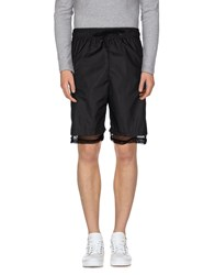 Numero 00 Trousers Bermuda Shorts Men Black