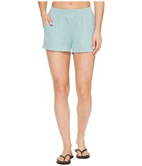 United By Blue Grayson Shorts Teal Women's Shorts Blue