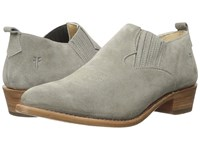 Frye Billy Shootie Dark Grey Oiled Suede Women's Slip On Shoes Gray